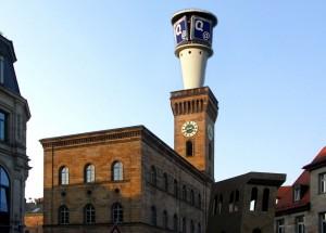 Quelle Turm auf Rathaus