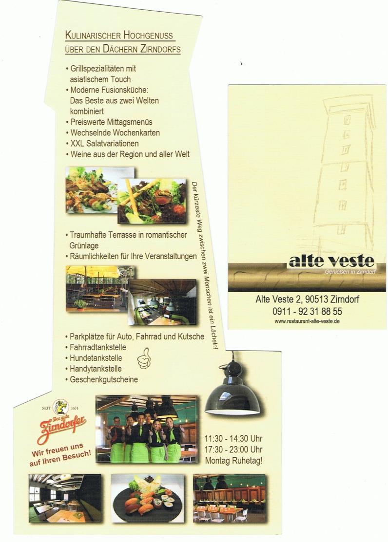Flyer und Visitenkarte